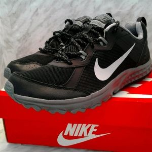 Nike Mens Wild Trail 642833-001 Black Running Shoe